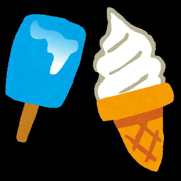 アイスクリームの3つの階級「 アイスクリーム > アイスミルク > ラクトアイス 」