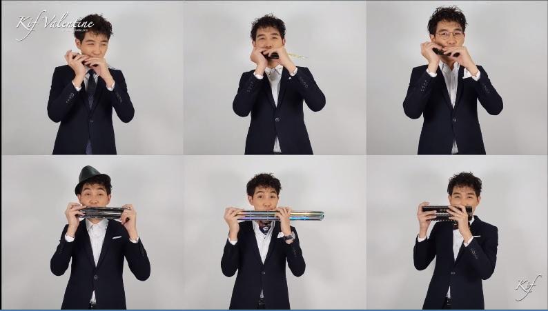 Kif Valentine ~マレーシアのプロハーモニカ奏者 ~