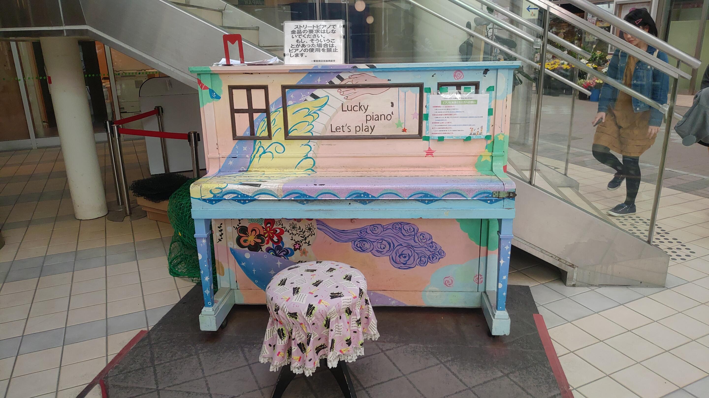 日本初の「ストリートピアノ」(鹿児島市)を見に行って考えた事。